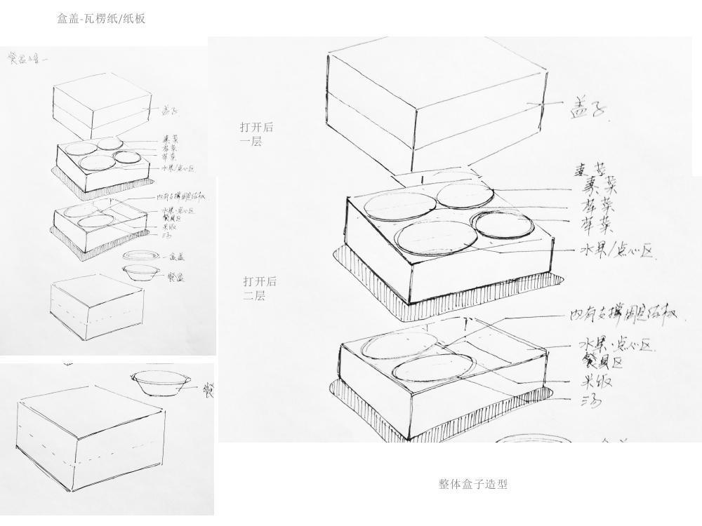采薇快餐品牌标识设计图23