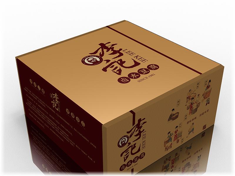 李记豆腐包装设计图4