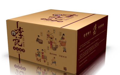李记豆腐包装设计