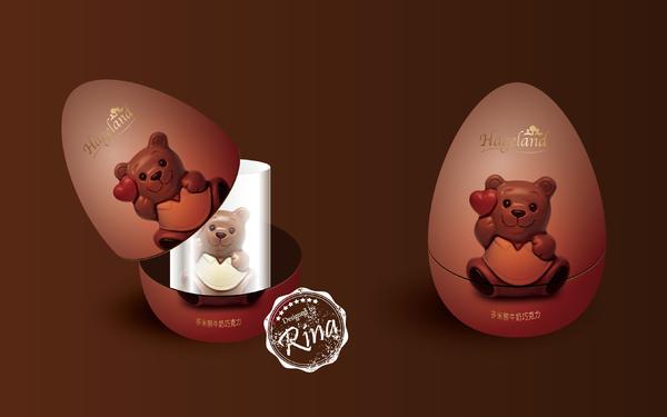 格兰蒂巧克力包装设计