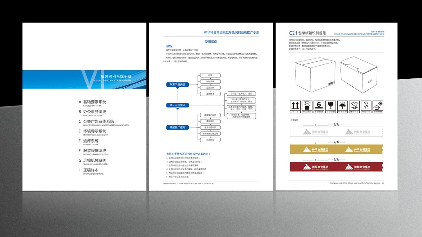 神华物资集团VI手册图1