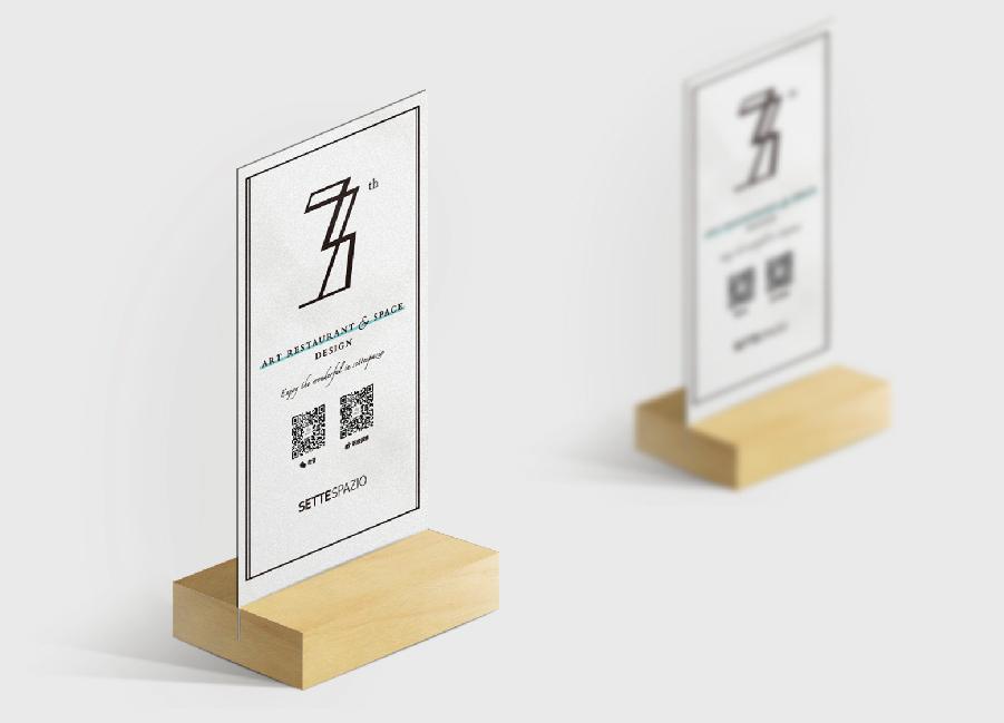 Settspazio七号艺术餐厅VI设计图8