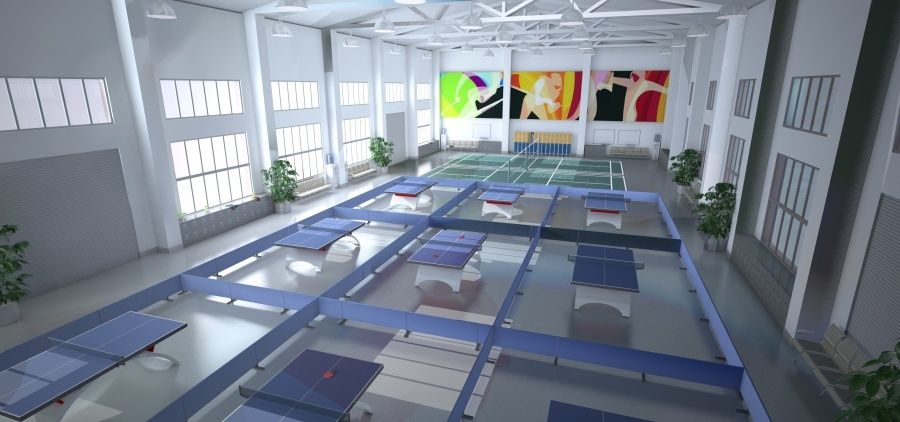 峻域体育馆设计方案图10