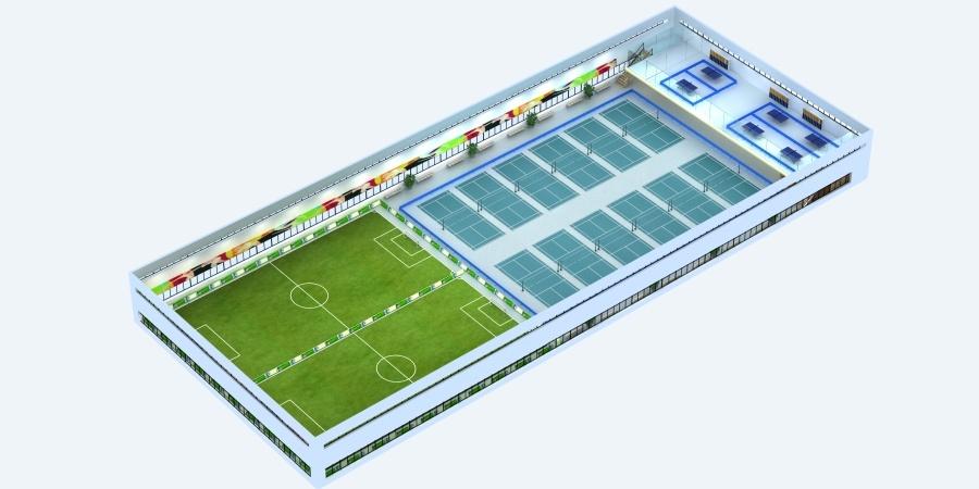 峻域体育馆设计方案图1