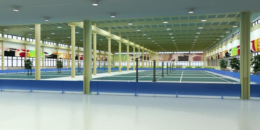 峻域体育馆设计方案图5