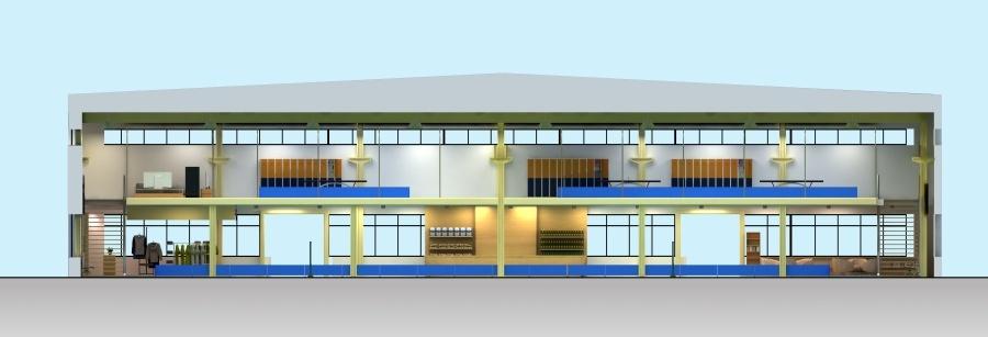 峻域体育馆设计方案图2