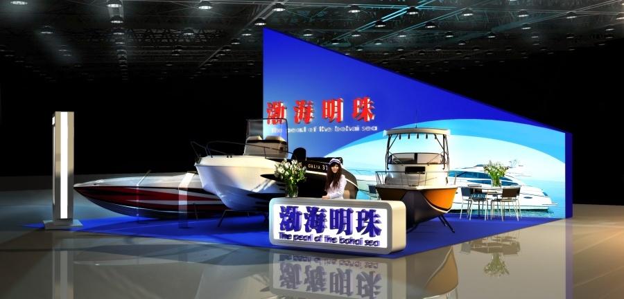 天津旅游博览会 游艇展图0
