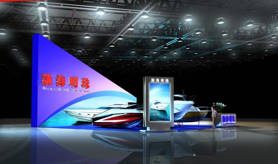 天津旅游博览会 游艇展图2