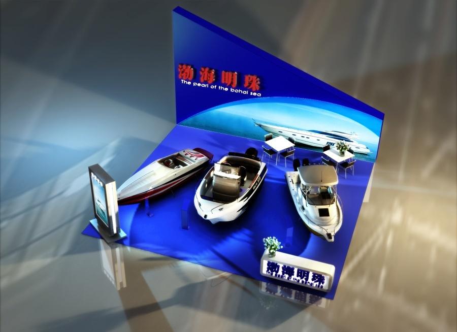 天津旅游博览会 游艇展图3