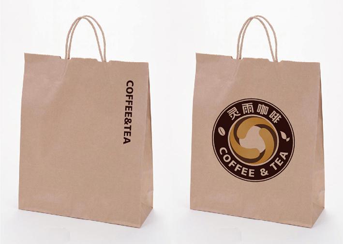 标志设计—蓝山灵雨咖啡品牌形象图7