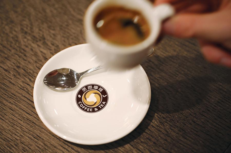标志设计—蓝山灵雨咖啡品牌形象图6