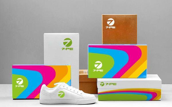 七波辉(7-PE)青少年休闲服饰品牌设计方案