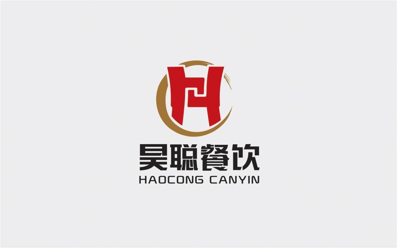 陕西昊聪餐饮管理有限公司标志设计图0