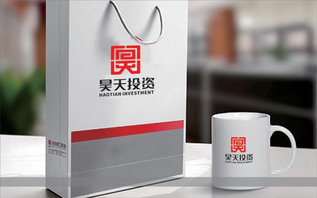 陕西昊天投资发展有限公司标志设计图2