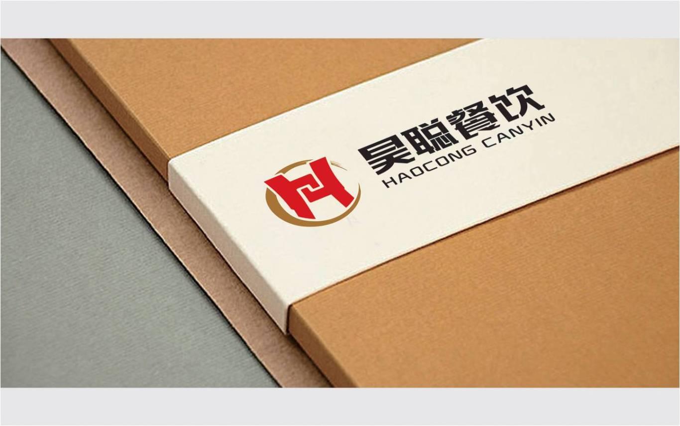 陕西昊聪餐饮管理有限公司标志设计图2