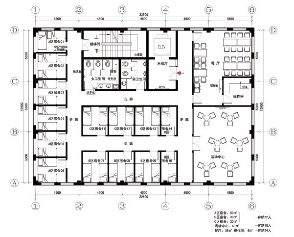 烟台银行营业网点及行政办公空间的空间识别系统图20