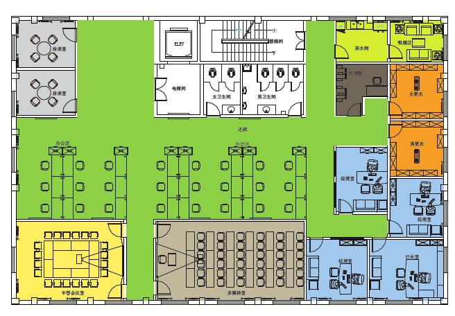 烟台银行营业网点及行政办公空间的空间识别系统图18