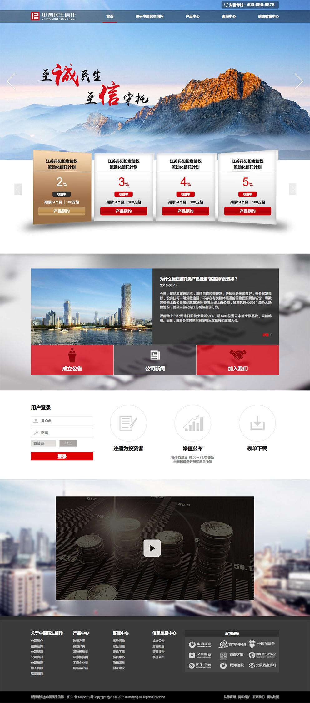 中国民生信托图0