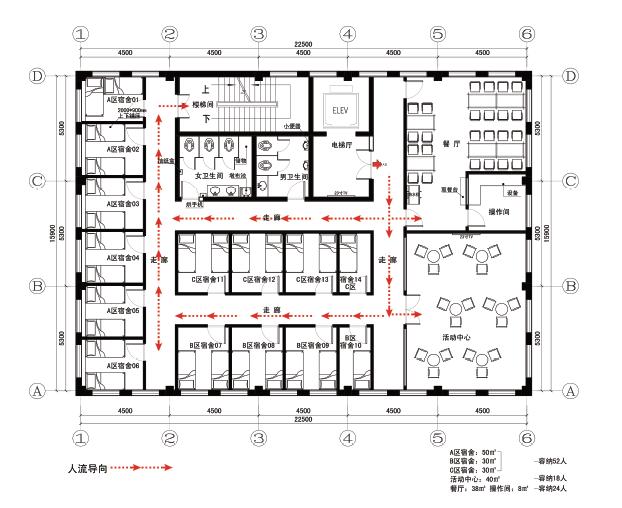 烟台银行营业网点及行政办公空间的空间识别系统图21