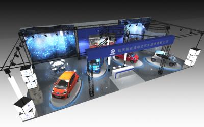 电动汽车展位搭建