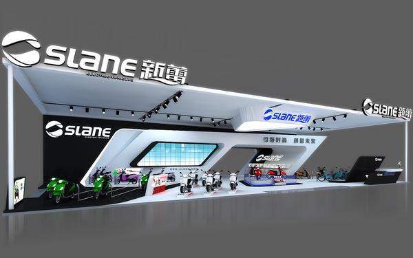 新蕾--2014年天津自行车博览会设计制作方案