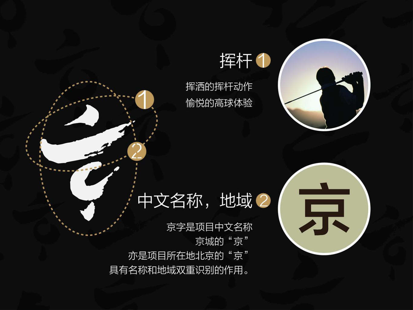 北京大兴京城高尔夫俱乐部LOGO设计图5