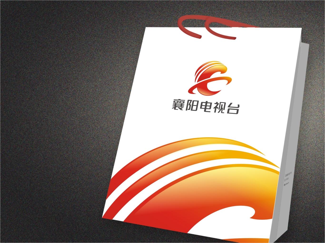 襄阳广播电视台台标设计图3