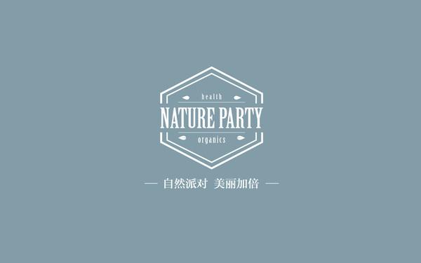 Nature party精油LOGO设计