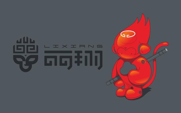 新疆丽翔广告公司标志形象设计