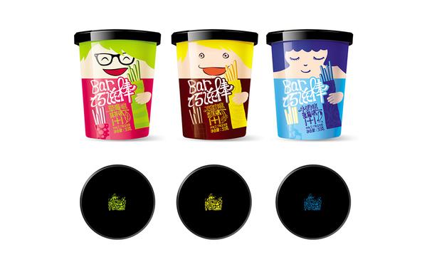 上海悠趣食品漫乐士项目巧滋棒食品包装设计