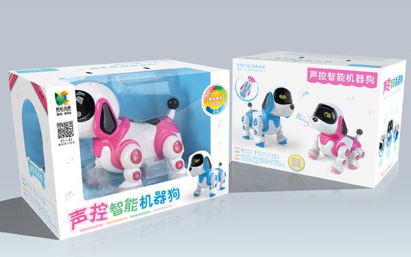 汕头市铠伦玩具厂 智能玩具 产品视频广告+包装设计