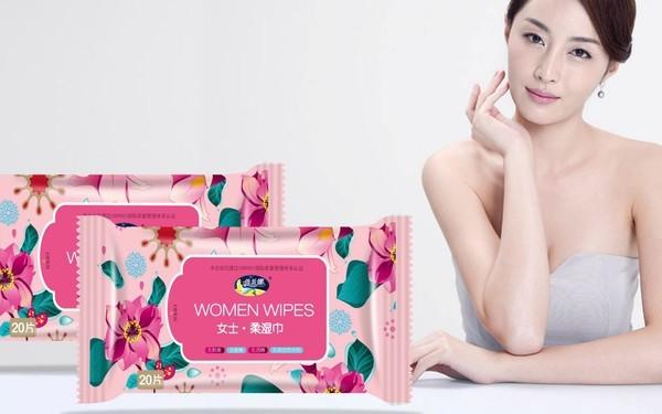 木兰湿巾 系列包装设计