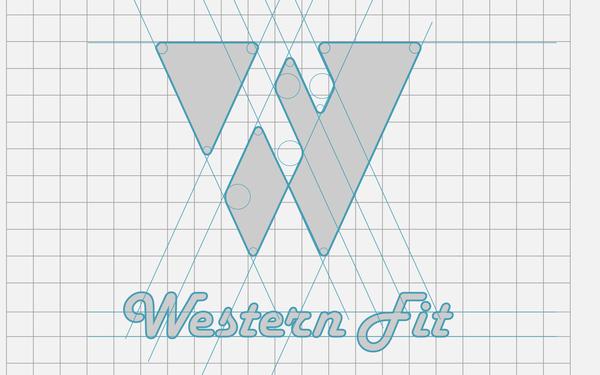 af、wf logo设计