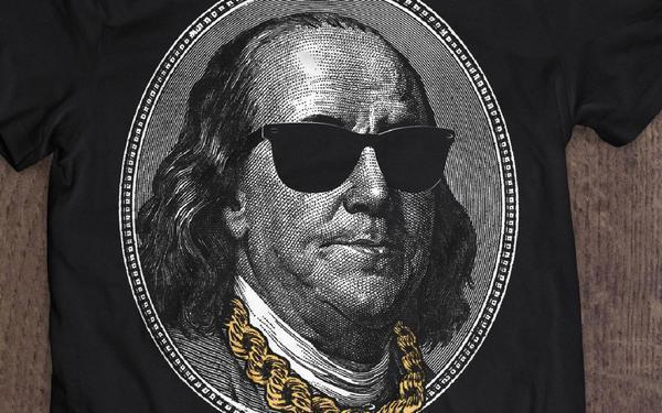 总统t恤图案设计