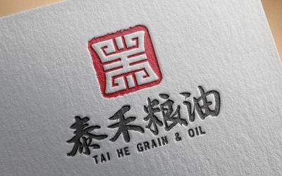 泰禾粮油品牌标志设计