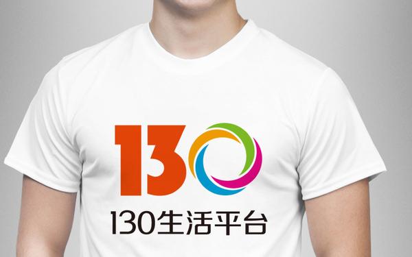 130生活服务平台logo设计