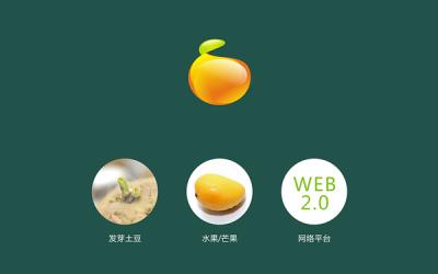 豆果美食Logo设计