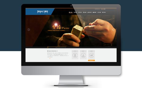 某地产金融类公司网站