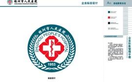 株洲市人民医院vis手册设计项目