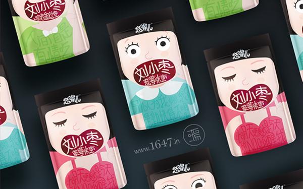 悠嘴儿-刘小枣系列-小萌贫女汉的世界你懂吗?--文里杨国品牌设计项目分享