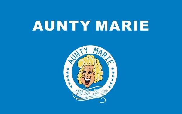 玛丽阿姨连锁洗衣标识及门楣设计