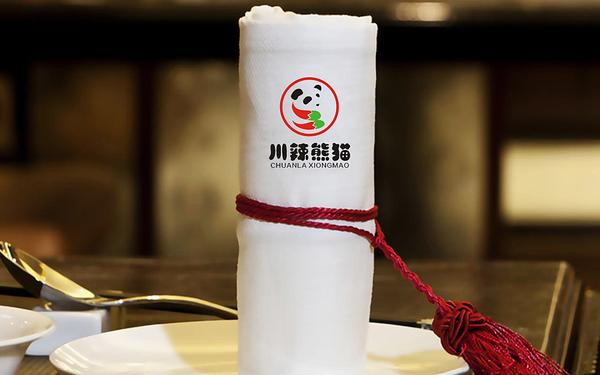 川辣熊猫LOGO设计