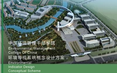 中国环境干部管理学院空间导视设...