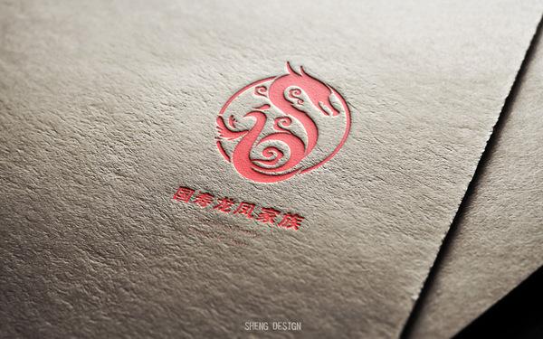 龙凤团队标志设计