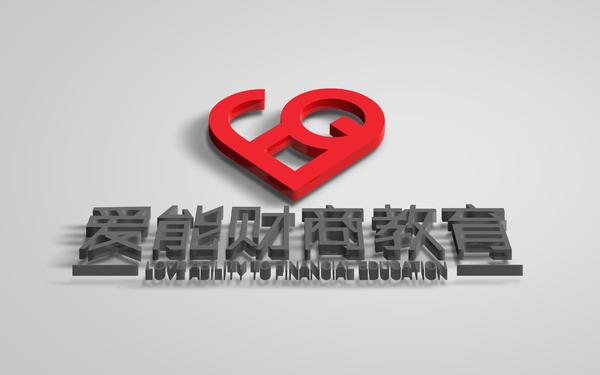 爱能财商教育系列logo设计