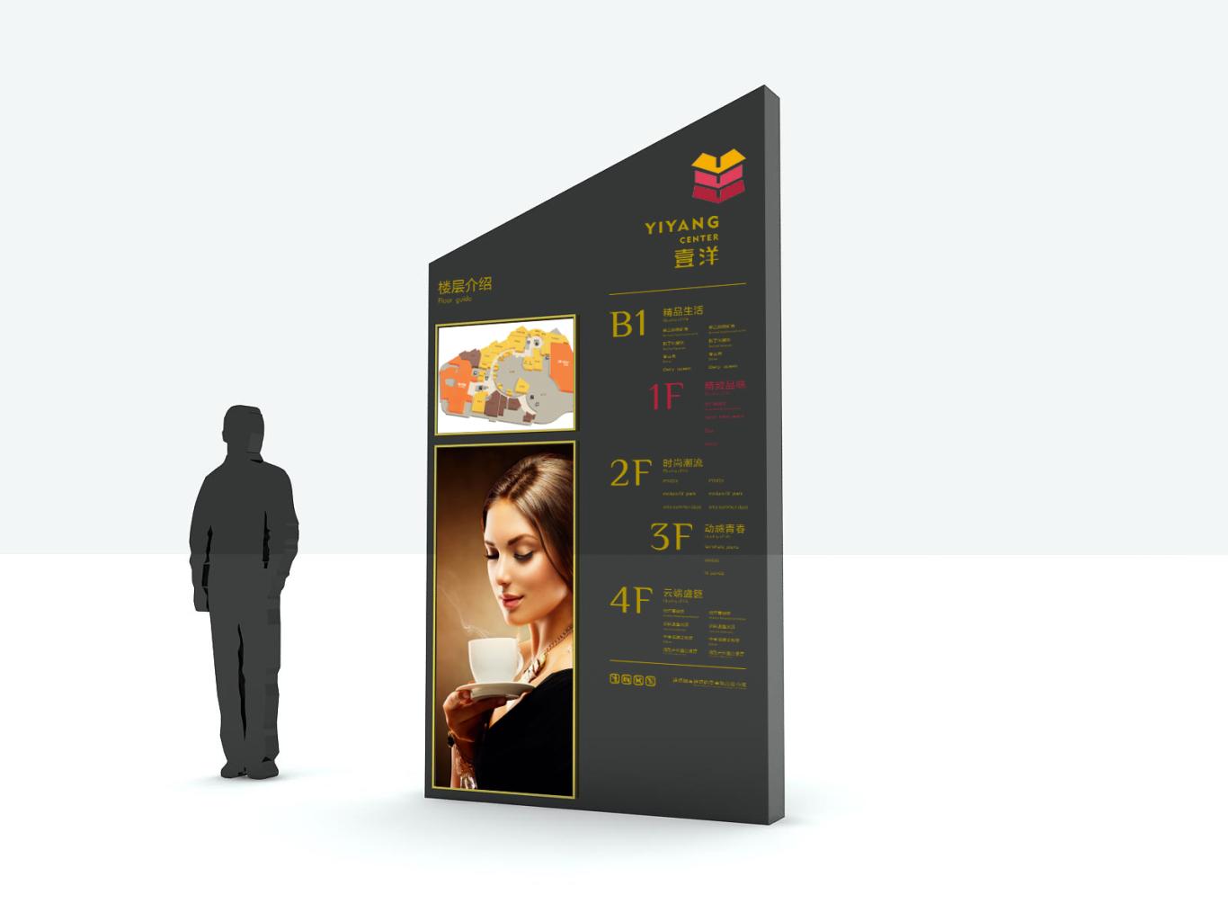 壹洋购物中心导视设计图5