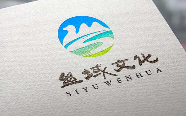 陕西丝域文化公司标志设计