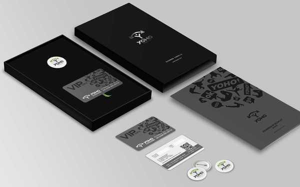 yoho健身品牌形象设计+物料设计