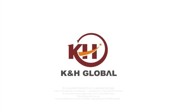 K&H GLOBAL 标志设计