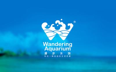北京漫步水族logo设计